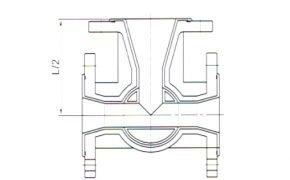 PFA Lined Plug Valve Flange Type for Corrosion Medium – 2